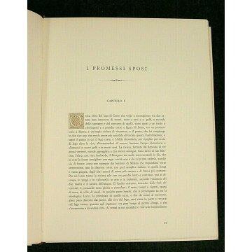 ANTICO LIBRO PROMESSI SPOSI A. Manzoni 2 Vol. ILLUSTRAZIONI TRACCANI PRIMA EDIZ.
