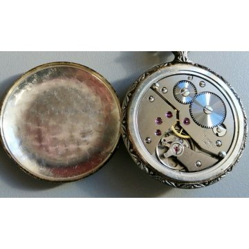 2 pz. OROLOGIO TASCA CACCIA Faiser Replay VINTAGE HUNTER OLD POCKET WATCH HORSE