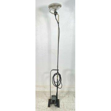 LAMPADA DA TERRA FLOS TOIO NERO ACHILLE CASTIGLIONI PIANTANA DESIGN ANNI 70 LAMP