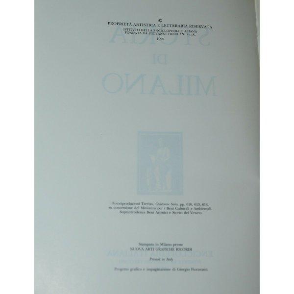 ANTICA ENCICLOPEDIA Treccani STORIA di MILANO 20 LIBRI da 493 al 1915 EPOCA 1996