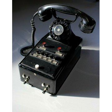 TELEFONO DISCO MODERNARIATO Autophon A.G. Solothurn BACHELITE VINTAGE SVIZZERA