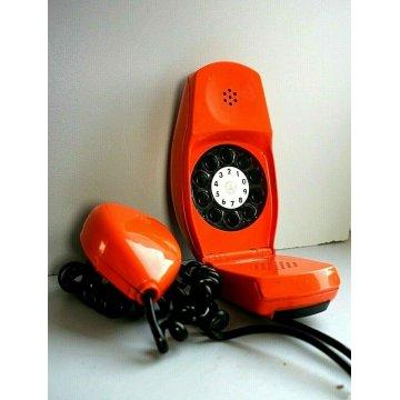 RARO TELEFONO GRILLO ARANCIONE SIEMENS SIP DESIGN Marco Zanus Richard Sapper '70