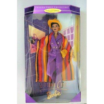 BARBIE Doll Fashion Savvy Collection Uptown Chic Afroamericana 1998 MATTEL 19632
