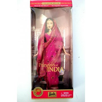 BARBIE Dolls of the world THE PRINCESS COLLECTION Princess of India MATTEL 28374
