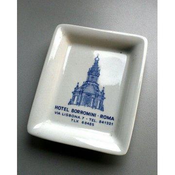VINTAGE SOUVENIR Hotel ROMA PIATTINO CERAMICA Richard Ginori TIP TRAY SOAP DISH