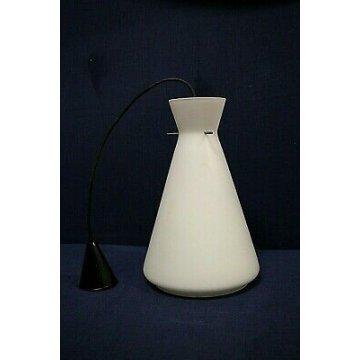 ANTICO LAMPADARIO VETRO 1960 DESIGN Stilnovo LAMPADA SOFFITTO OLD HANGING LAMP