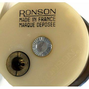 ACCENDINO VINTAGE RONSON TAVOLO PLEXIGLASS ROSA VINTAGE TABLE LIGHTER DESIGN OLD