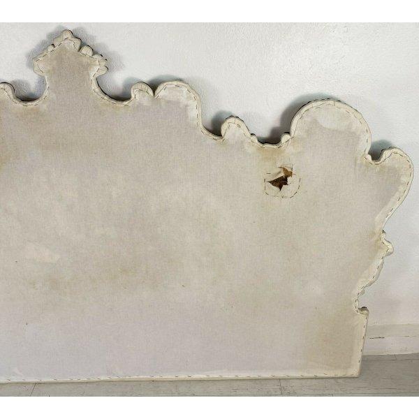 ANTICA TESTATA LETTO FINE 700 RAME ARGENTATO EPOCA BED ORIGINALE MATRIMONIALE