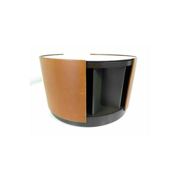 TAVOLO BAR T-150 DESIGN OSVALDO BORSANI GIREVOLE COFFE TABLE TAVOLINO DA FUMO