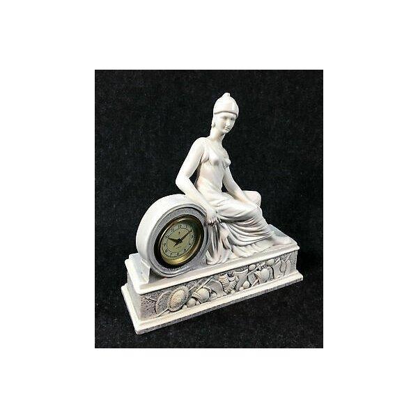 PARIGINA CERAMICA SCULTURA OROLOGIO CAMINO TAVOLO ANKER CLASSICO ROMA ROMANO