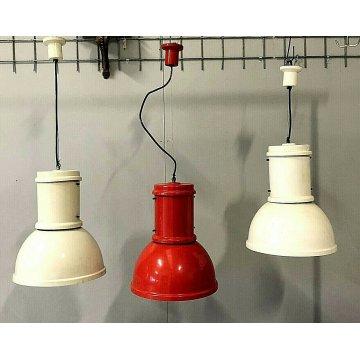 3 SOSPENSIONE LAMPARA LAMP MEDIUM Roberto Menghi FONTANAARTE INDUSTRIAL DESIGN