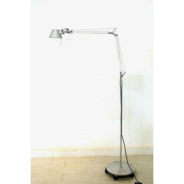 LAMPADA Tolomeo ARTEMIDE PIANTANA FLESSIBILE BASE RUOTE READING FLOOR LAMP 80/90