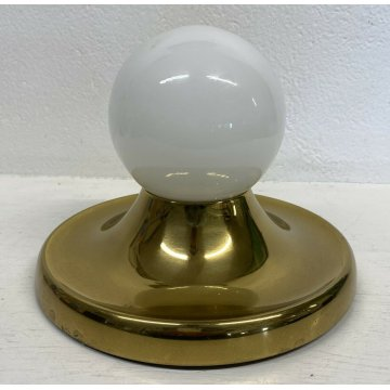 APPLIQUE VINTAGE ACHILLE E PIER GIACOMO CASTIGLIONI 1970 DESIGN LAMPADA BALUM