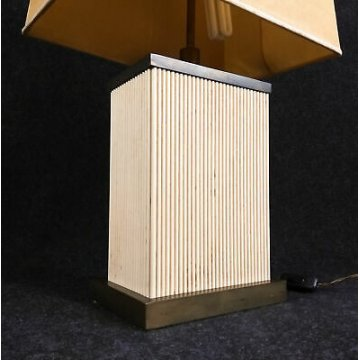 TOMMASO BARBI DESIGN LAMPADA DA TAVOLO TB MADE IN ITALY VINTAGE TABLE LAMP EPOCA