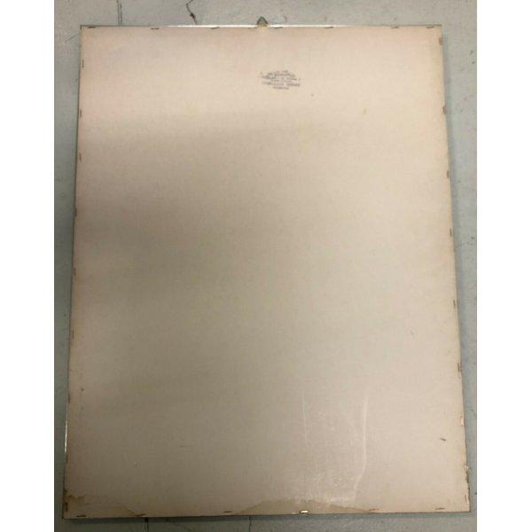 QUADRO RARA STAMPA-MULTIPLO LITOGRAFIA 1970 GIUSEPPE ZAGAINA ARTE MODERNA