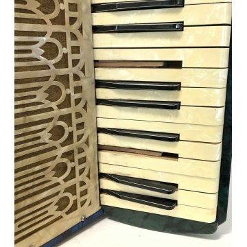 FISARMONICA VINTAGE TONIKA VINTAGE BASSI PIANO 34 TASTI ANNI 80 STRUMENTO MUSICA