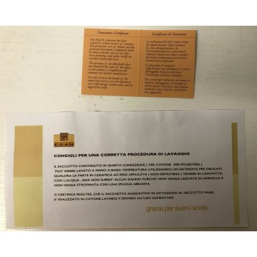 EGAN CARAMICA ARTIGIANALE ITALY SACCOTTO PANE ORIGINALE CON SCATOLA E GARANZIA
