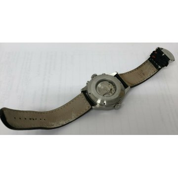 OROLOGIO POLSO ZENO WATCH BASEL AUTOMATIC CHRONOGRAPH SWISS MADE 6239 FUNZIONA