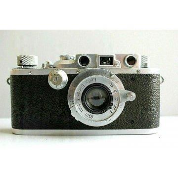 FOTOCAMERA A TELEMETRO Leica IIIb ERNST LEITZ WETZLAR Leitz Elmar 5cm f 51:3,5